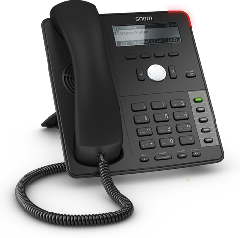 Telephone IP call center SNOM D715