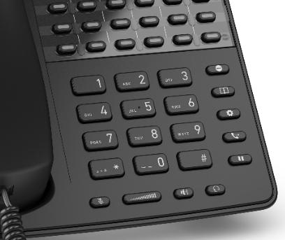 Telephone IP centre d'appel SNOM D725