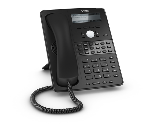 Telephone IP centre d'appel SNOM D725